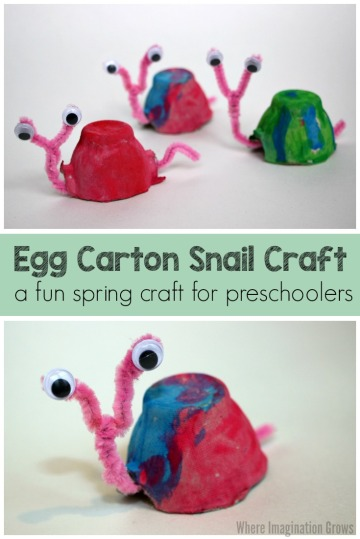 egg-carton-pipe-cleaner-snail-craft-for-kids